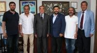 Muğla Vergi Dairesi Başkanı BODTO'yu ziyaret etti