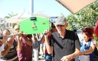 Gazeteci Emel Akant,  Bitez'de toprağa verildi