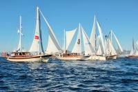 The Bodrum Cup 105 yelkenli tekne ile denize açıldı
