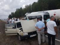 Dalaman'da trafik kazası: 1 ölü, 4 yaralı