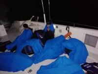 Türk kara sularına geri itilen 8 sığınmacı kurtarıldı
