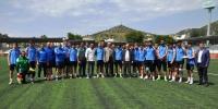 AK Partili vekilden şampiyonluk maçı öncesi Bodrumspor ziyareti
