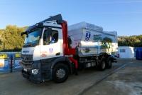 37 adet 3 tonluk sensörlü yeni nesil çöp konteynırı alındı