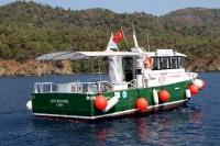 Göcek Koyları'nın koruyucu tekneleri görevde