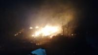 Bodrum'da otluk ve ağaçlık alanda çıkan yangın söndürüldü