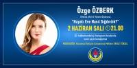 Özge Özberk, TED Bodrum Kolejinin instagram canlı yayın konuğu olacak