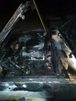 Bodrum'da otomobil yangını