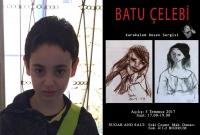 Genç sanat tutkunundan kara kalem portreler