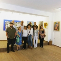 Bodrum'un ressamlarını bir araya getiren sergi