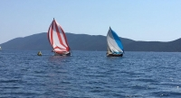 Tirhandil yelken yarışları 3'ücü ayak tamamlandı