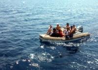 8 düzensiz göçmen yakalandı