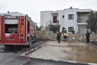 Konacık'ta ev yangını