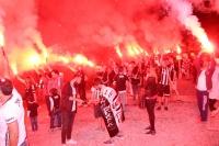Beşiktaşlıların şampiyonluk sevinci