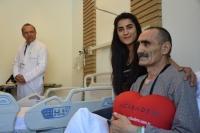 Felç geçiren kalp tümörü hastasına hayati müdahale