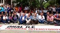 CHP'lilerden Muğla'da Oturma Eylemi