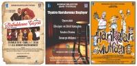 Tiyatro kursları ve oyunları ile dolu dolu bir sezon