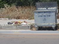 Çöp konteynerinde bebek cesedi bulundu