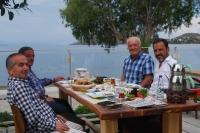 Eski başkanlar kahvaltıda buluştu