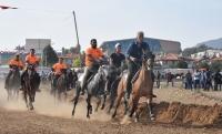 21. Geleneksel Muğla Menteşe Rahvan At Yarışları'na 10 ilden 100 sporcu katıldı