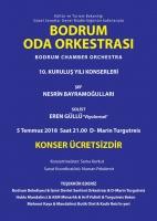 5 TEMMUZ'DA BODRUM ODA ORKESTRASI'NIN KONSERİNE DAVETLİSİNİZ