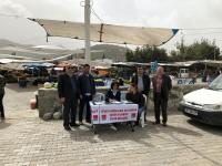 """CHP Bodrum'dan """"Şeker Fabrikaları özelleştirilmesin"""" imza kampanyası"""
