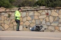 80 yaşındaki motosiklet sürücüsü kazada hayatını kaybetti