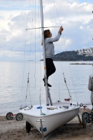 Kış Kupası Yelken Yarışları başladı