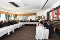 2018 Yılının Son Muhtarlar  Toplantısı Bodrum'da Yapıldı