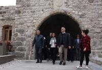 Kültür ve Turizm Bakanı Ersoy, Bodrum Kalesi'nde incelemelerde bulundu