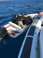 Yurt dışına çıkmaya çalışan 6 düzensiz göçmen yakalandı