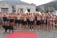 Datça 13. Açık Deniz Kış Yüzme Maratonu yapıldı
