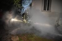 Bodrum'da apartta yangın