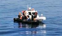 Bodrum açıklarında 19 sığınmacı kurtarıldı