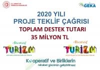 GEKA'dan 2020 yılı Proje Teklif Çağrısı