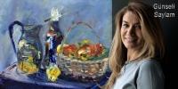 Günseli Saylam'ın renkleri Vefa Sanat Galerisi'nde