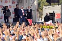 """Başbakan Muğla'da konuştu:  """"Bu ülkeyi renklere ayırarak en büyük kötülüğü yapıyorlar"""""""