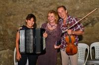 Gümüşlük'te festival  keman ve akordeonun DANSIYLA başladı