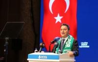 DEVA Partisi Genel Başkanı Babacan, partisinin Bodrum İlçe Olağan Kongresi'nde konuştu