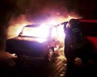 Park halindeyken yanan otomobildeki kişi öldü