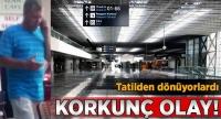 Havalimanının 3. katından düşen bebek ağır yaralandı