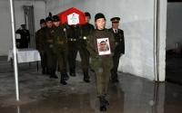Şehit Özavcı için Muğla İl Jandarma Komutanlığı'nda  Uğurlama Töreni Düzenlendi