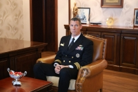 ABD'li komutanlardan Marmaris'te ziyaretler