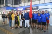 Dünya şampiyonu Yiğit Yalçın Çitak'a coşkulu karşılama