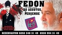 Kefi Beach'de 30 Ağustos Zafer  Bayramı Coşkusu ve Fedon Konseri