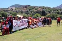 Türk Yunan dostluğu futbolla pekişti