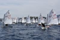 Mavi suları özleyen yelkenciler yarış heyecanı yaşadı