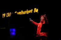 Cumhuriyet Meydanı Cumhuriyet Bayramı'nda Selda Bağcan'la açıldı