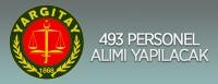 Yargıtay 493 personel alımı yapacak