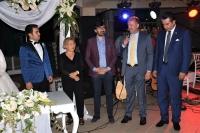 Eski bakanlardan İmren Aykut, Bodrum'da nikah şahitliği yaptı
