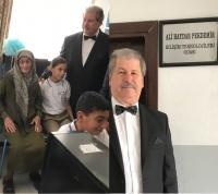 Pekdemir ailesinden o okula teknoloji odası